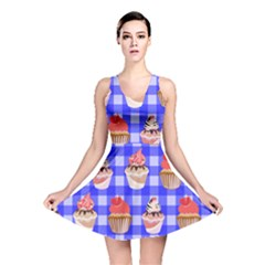 Cake Pattern Reversible Skater Dress
