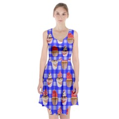 Cake Pattern Racerback Midi Dress