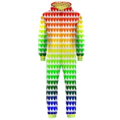 Rainbow Love Hooded Jumpsuit (men)