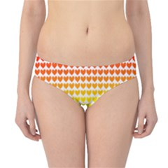 Rainbow Love Hipster Bikini Bottoms