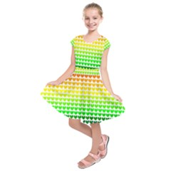 Rainbow Love Kids  Short Sleeve Dress