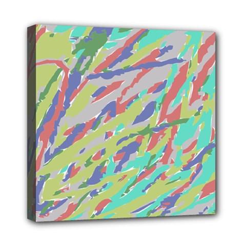 Crayon Texture Mini Canvas 8  X 8