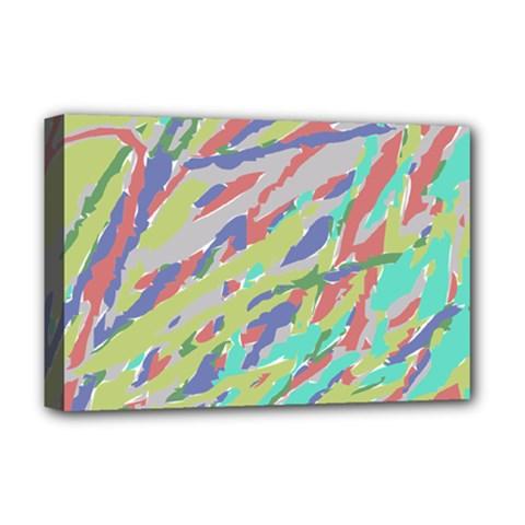 Crayon Texture Deluxe Canvas 18  x 12