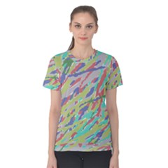 Crayon Texture Women s Cotton Tee
