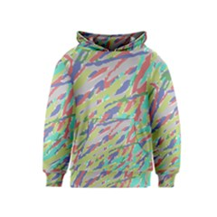 Crayon Texture Kids  Pullover Hoodie