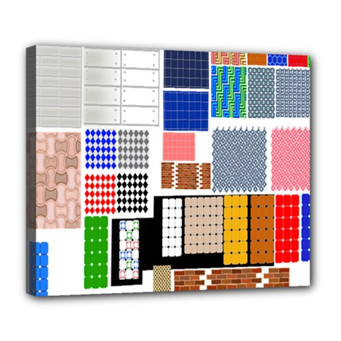 Texture Package Deluxe Canvas 24  x 20