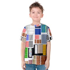 Texture Package Kids  Cotton Tee