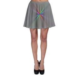 Square Rainbow Skater Skirt