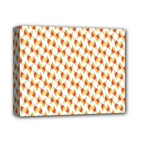 Candy Corn Seamless Pattern Deluxe Canvas 14  X 11