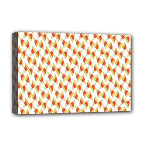 Candy Corn Seamless Pattern Deluxe Canvas 18  X 12