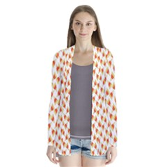Candy Corn Seamless Pattern Cardigans