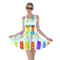 Popsicle Pattern Skater Dress