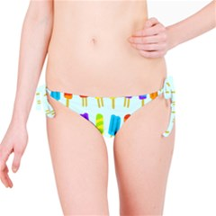 Popsicle Pattern Bikini Bottom