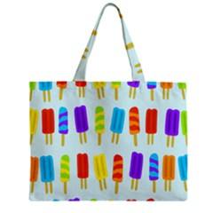 Popsicle Pattern Mini Tote Bag
