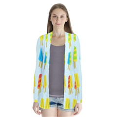 Popsicle Pattern Cardigans