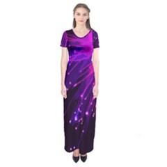 Big Bang Short Sleeve Maxi Dress