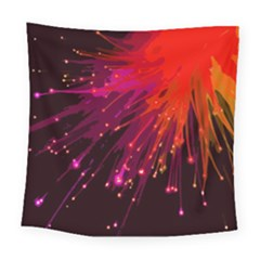 Big Bang Square Tapestry (large)