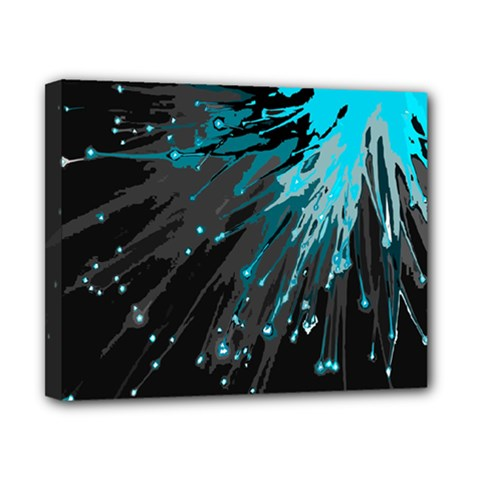 Big Bang Canvas 10  X 8