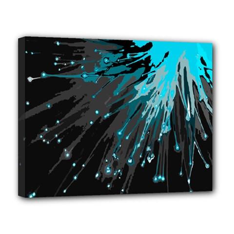Big Bang Canvas 14  X 11