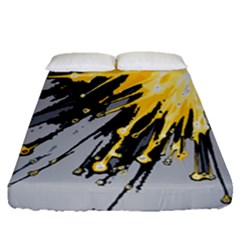 Big Bang Fitted Sheet (queen Size)