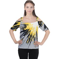 Big Bang Women s Cutout Shoulder Tee