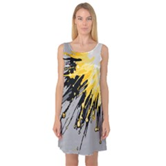 Big Bang Sleeveless Satin Nightdress