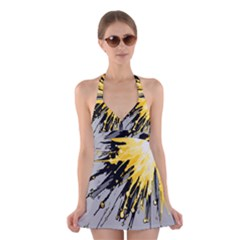 Big Bang Halter Swimsuit Dress