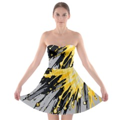 Big Bang Strapless Bra Top Dress