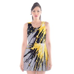 Big Bang Scoop Neck Skater Dress