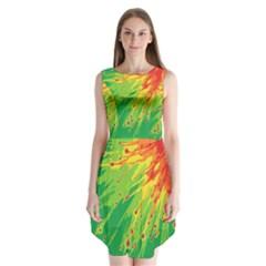 Big Bang Sleeveless Chiffon Dress