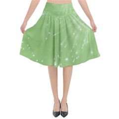 Big Bang Flared Midi Skirt