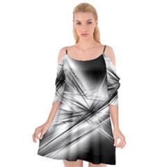 Big Bang Cutout Spaghetti Strap Chiffon Dress