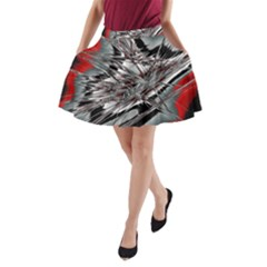 Big Bang A Line Pocket Skirt
