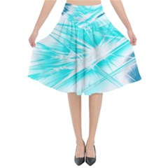 Big Bang Flared Midi Skirt