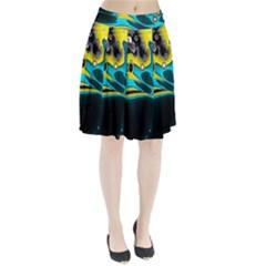 Lights Pleated Skirt