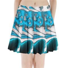 Lights Pleated Mini Skirt