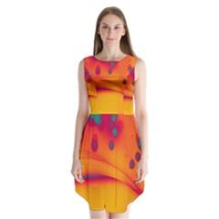 Lights Sleeveless Chiffon Dress