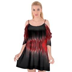 Light Cutout Spaghetti Strap Chiffon Dress
