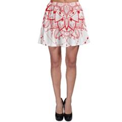 Mandala Pretty Design Pattern Skater Skirt