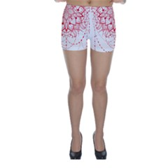 Mandala Pretty Design Pattern Skinny Shorts