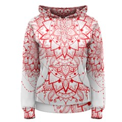 Mandala Pretty Design Pattern Women s Pullover Hoodie