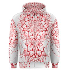 Mandala Pretty Design Pattern Men s Zipper Hoodie