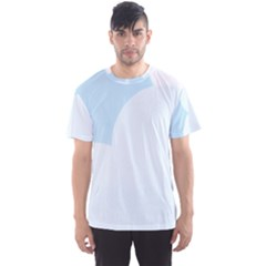 Cloud Sky Blue Decorative Symbol Men s Sport Mesh Tee