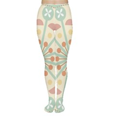 Blue Circle Ornaments Women s Tights