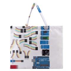 Arduino Arduino Uno Electronic Zipper Large Tote Bag