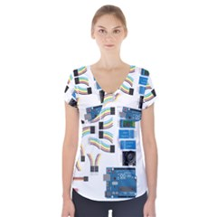 Arduino Arduino Uno Electronic Short Sleeve Front Detail Top