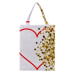 Heart Transparent Background Love Classic Tote Bag