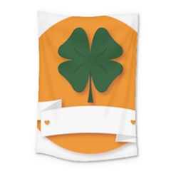 St Patricks Day Ireland Clover Small Tapestry