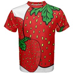 Strawberry Holidays Fragaria Vesca Men s Cotton Tee