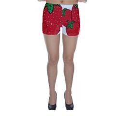 Strawberry Holidays Fragaria Vesca Skinny Shorts